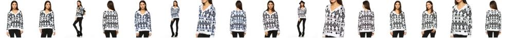 White Mark Women's Traditional Sweater