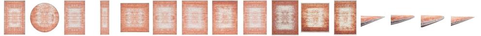 Bridgeport Home Norston Nor3 Terracotta Area Rug Collection