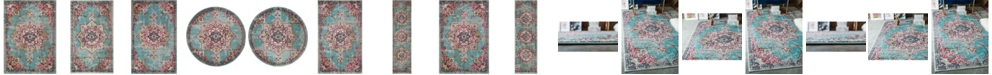 Bridgeport Home Sana San1 Light Blue Area Rug Collection