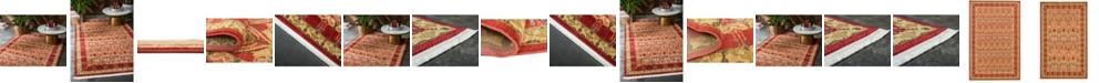 Bridgeport Home Orwyn Orw3 Red/Tan Area Rug Collection