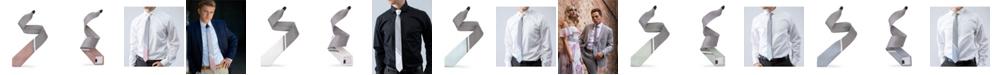 Modern Tie Men's 3-Tone Striped Tipping Athletica Slim Single Tie