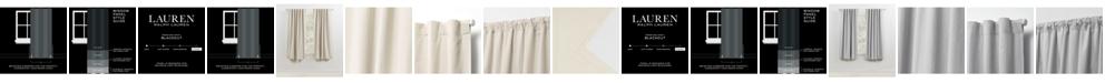 "Lauren Ralph Lauren Sallie Blackout Back Tab/Rod Pocket Curtain Panel, 54"" x 63"""