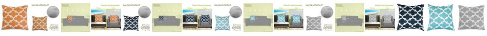 "Majestic Home Goods Trellis Decorative Throw Pillow Extra Large 24"" x 24"""