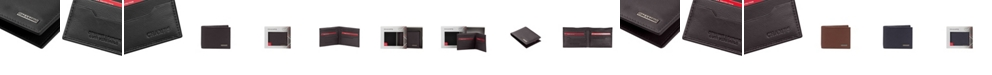 CHAMPS Leather RFID Bi-Fold Wallet in Gift Box