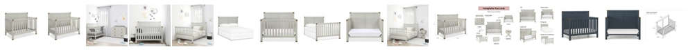 Baby Relax Frances 5-in-1 Convertible Crib