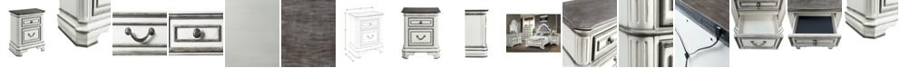 Picket House Furnishings Caroline 2-Drawer Nightstand with USB