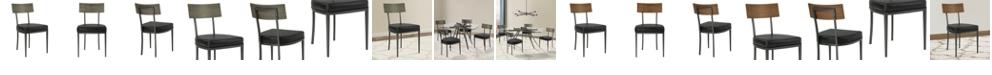 Armen Living Ojai Dining Chair (Set of 2), Quick Ship