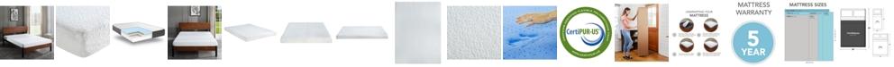 "Chic Couture Sleep Trends Ladan Full 6"" Cool Gel Memory Foam Firm Tight Top Mattress"
