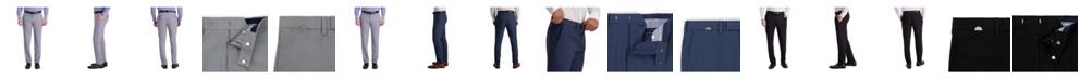 Louis Raphael Comfort Stretch Stria Slim Fit Flat Front Dress Pant