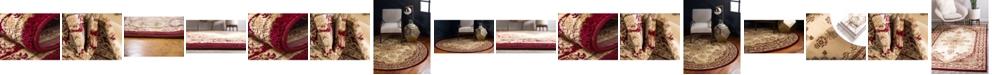 Bridgeport Home Belvoir Blv1 Ivory/Red Area Rug Collection