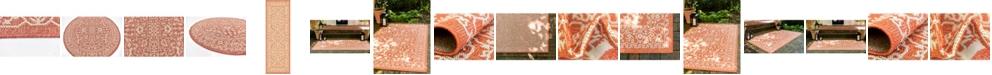Bridgeport Home Pashio Pas6 Terracotta Area Rug Collection