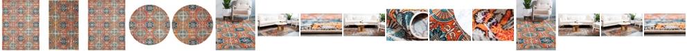 Bridgeport Home Newwolf New5 Orange Area Rug Collection