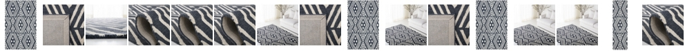 Lauren Ralph Lauren Imani Geometric LRL6609N Slate Area Rug Collection