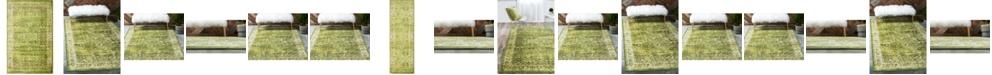 Bridgeport Home Linport Lin1 Green Area Rug Collection
