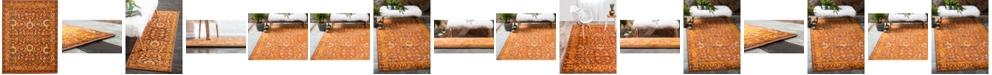 Bridgeport Home Linport Lin3 Terracotta Area Rug Collection