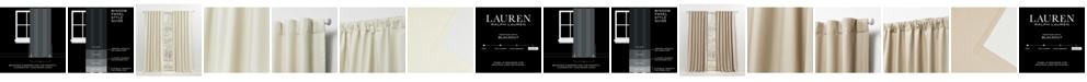 "Lauren Ralph Lauren Waller Blackout Solid Tab/Rod Pocket Curtain Panel, 52"" x 96"""