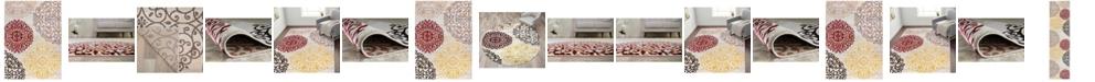 Main Street Rugs Home Alba Alb303 Cream Area Rug Collection