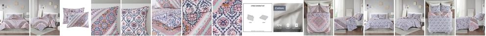 Intelligent Design Marabella 3-Piece Full/Queen Reversible Coverlet Set