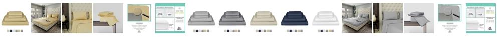 "Fisher West New York The Village 500 Thread Count Cotton Full Sheet 4-Piece Set, Fits Mattress Upto 17"""
