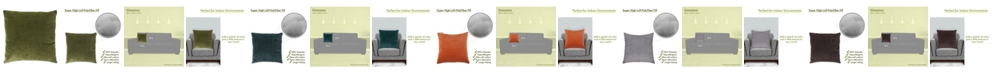 "Majestic Home Goods Villa Decorative Throw Pillow Extra Large 24"" x 24"""