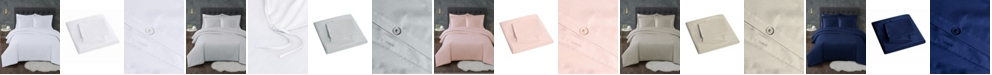 Truly Calm Antimicrobial 3 Piece Duvet Set, King