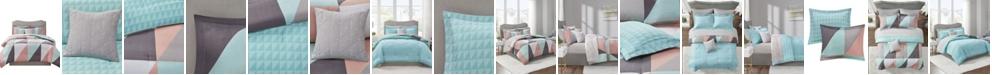 Madison Park Essentials Remy 8 Piece Reversible Full Bedding Set