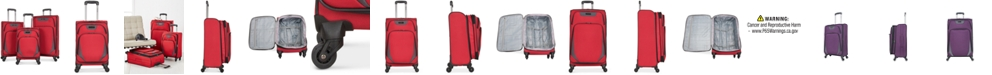 Kenneth Cole Reaction Going Places 3 Pc Spinner Luggage Set