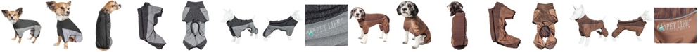 Pet Life Central Pet Life Active 'Chase Pacer' Performance Two Toned Full Body Warm Up