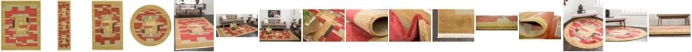 Bridgeport Home Ojas Oja2 Rust Red Area Rug Collection
