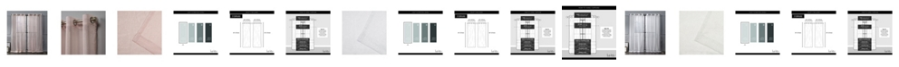 "Exclusive Home Nicole Miller Iceland Metallic Sheer Grommet Top 54"" X 84"" Curtain Panel Pair"