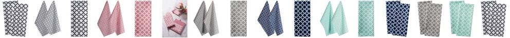Design Imports Lattice Dishtowel, Set of 2