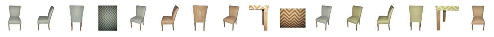 Sole Designs Julia Ziggi Dining Chair Set, Set of 2