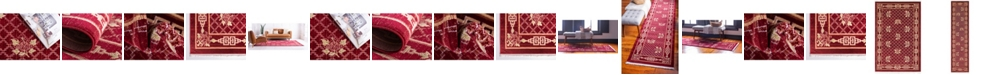 Bridgeport Home Sahil Sah5 Red Area Rug Collection