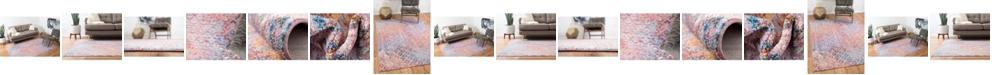 Bridgeport Home Prizem Shag Prz2 Lilac Area Rug Collection