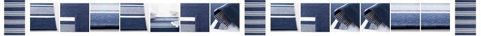 Lauren Ralph Lauren Hanover Stripe LRL2461A Navy Area Rug Collection