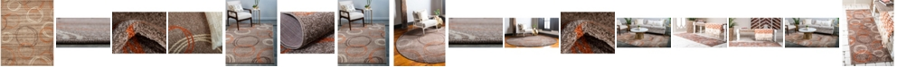 Bridgeport Home Jasia Jas05 Light Brown Area Rug Collection
