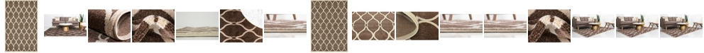Bridgeport Home Arbor Arb6 Brown Area Rug Collection