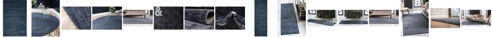 Jill Zarin  Park Avenue Uptown Jzu004 Navy Blue Area Rug Collection