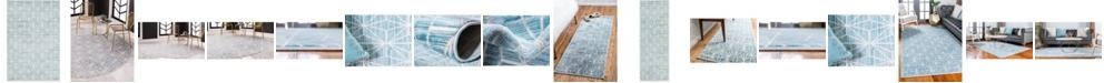 Jill Zarin Fifth Avenue Uptown Jzu002 Blue Area Rug Collection