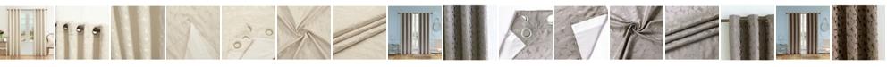 "Lyndale Decor Simone Lined Room Darkening Curtain, 95"" L x 54"" W"