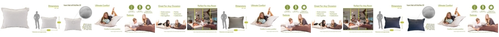 """Majestic Home Goods Wales Comfortable Soft Floor Pillow Extra Large 54"""" x 22"""""""
