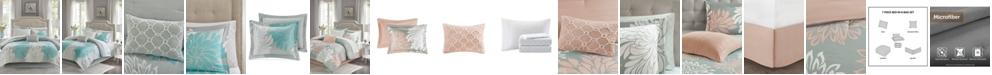 Madison Park Essentials Arlene Reversible 7-Pc. Twin Comforter Set