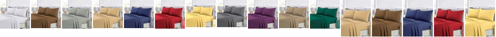 Tribeca Living Super Soft Solid DP Easy-Care Extra Deep Pocket Twin XL Sheet Set