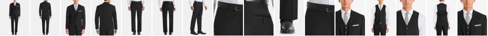 Lauren Ralph Lauren  Men's UltraFlex Classic-Fit Black Wool Suit Separates