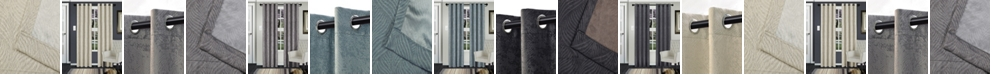 "Superior Waverly Textured Blackout Curtain, Set of 2, 58"" x 108"""