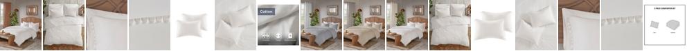 Madison Park Lillian Full/Queen 3 Piece Cotton Comforter Set