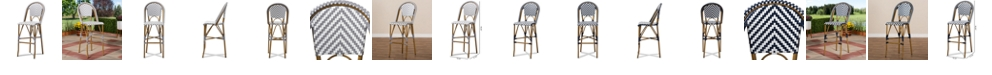 Furniture Ilene Outdoor Bar Stool, Quick Ship
