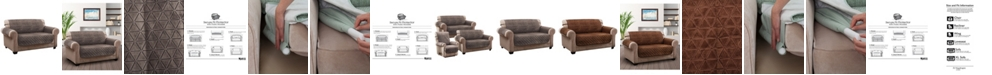 P/Kaufmann Home Prism Secure Fit Loveseat Furniture Cover Slipcover