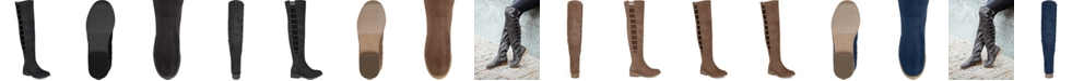 Journee Collection Women's Wide Calf Pitch Boot