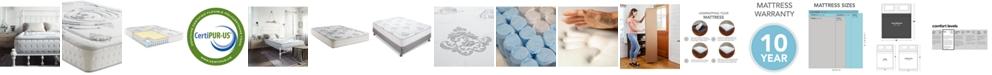 "Sleep Trends Rubi 10.5"" Wrapped Coil Hybrid Firm Pillow Top Mattress- King"